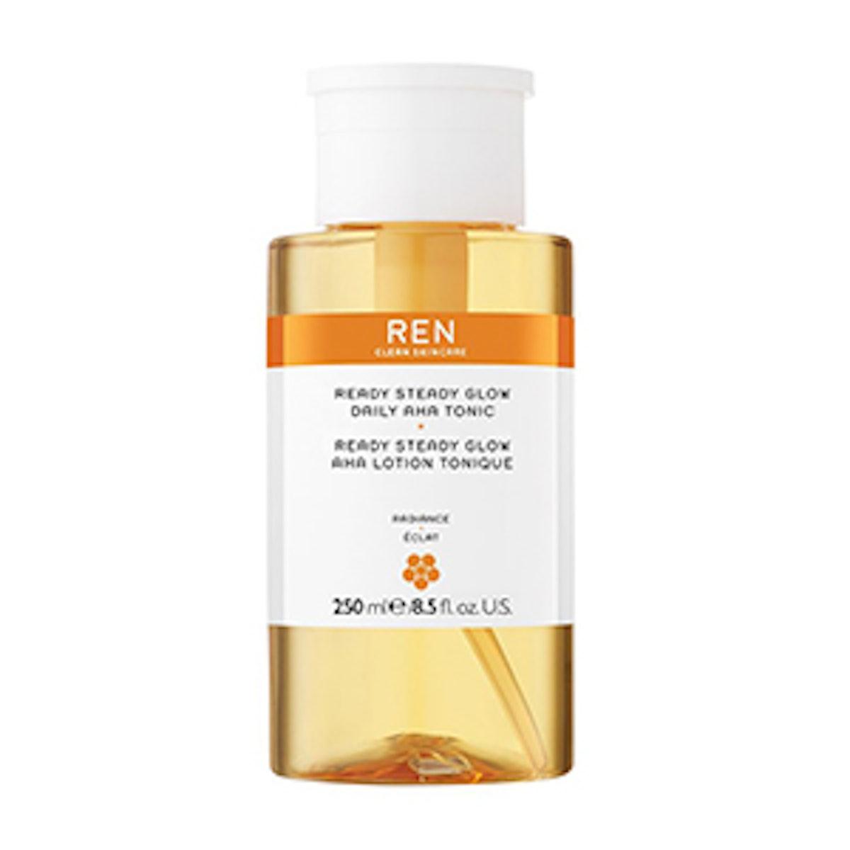 Ren Clean Skincare Ready Steady Glow AHA Tonic