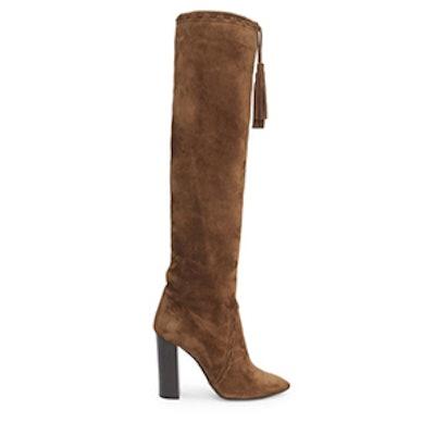 Saint Laurent Meurice Suede Boots