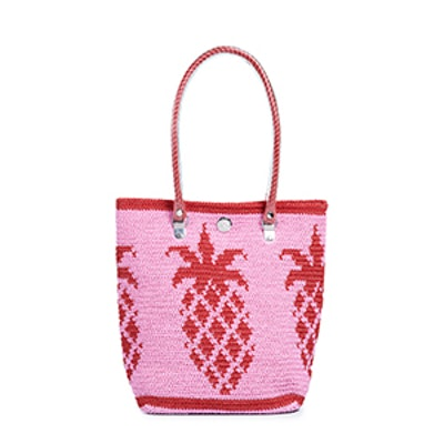 Classic Tote in Pineapple Pink
