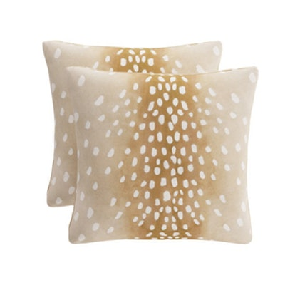 Throw Pillow in Fawn