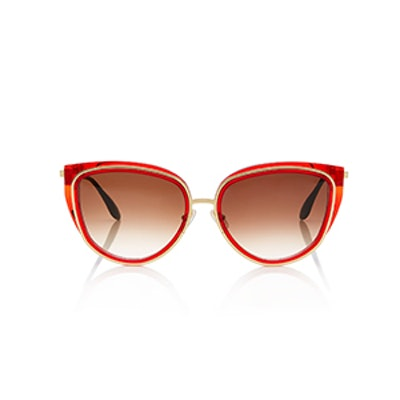 Thierry Lasry Enigmaty Cat Eye Acetate Sunglasses