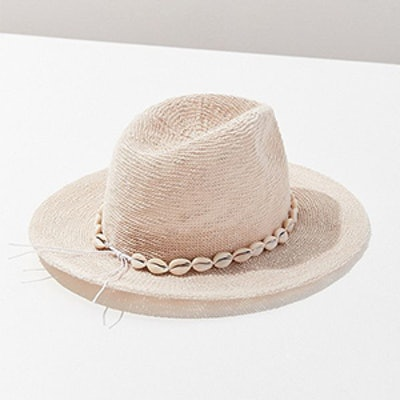 Pucca Shell Nubby Woven Panama Hat