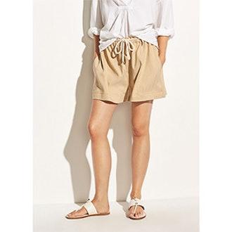 Rope Tie Linen Shorts