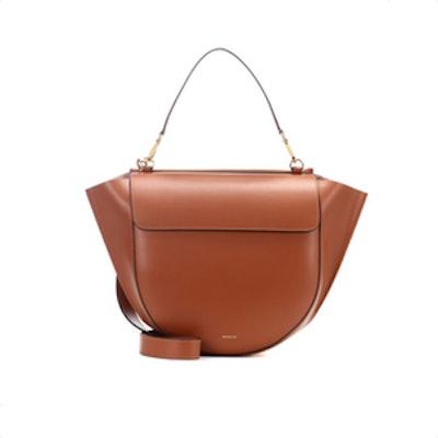 Hortensia Big Leather Shoulder Bag