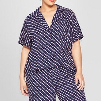Plus Size Pajama Shirt