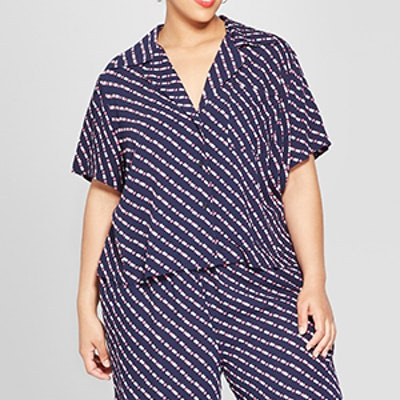 Plus Size Pajama Shirt