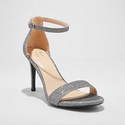 A New Day Myla Shimmer Stiletto Pump Heel Sandal