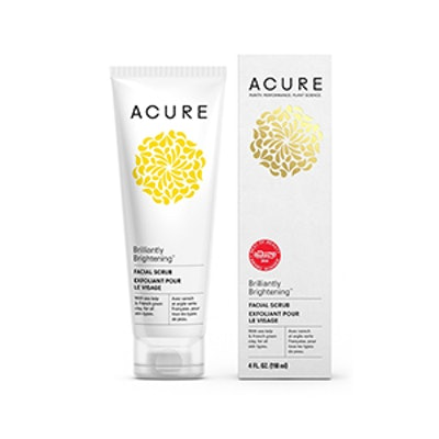 Acure Organics Brilliantly Brightening Facial Scrub