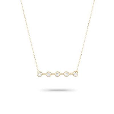 5 Diamond Necklace