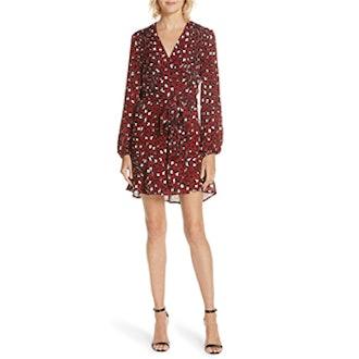 ALC Michaela Silk Wrap Dress