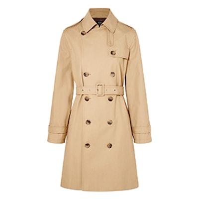 APC Josephine Cotton-Gabardine Trench Coat