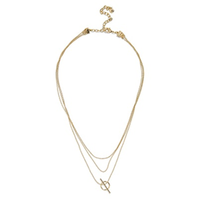 Delicate Bead Chain Necklace