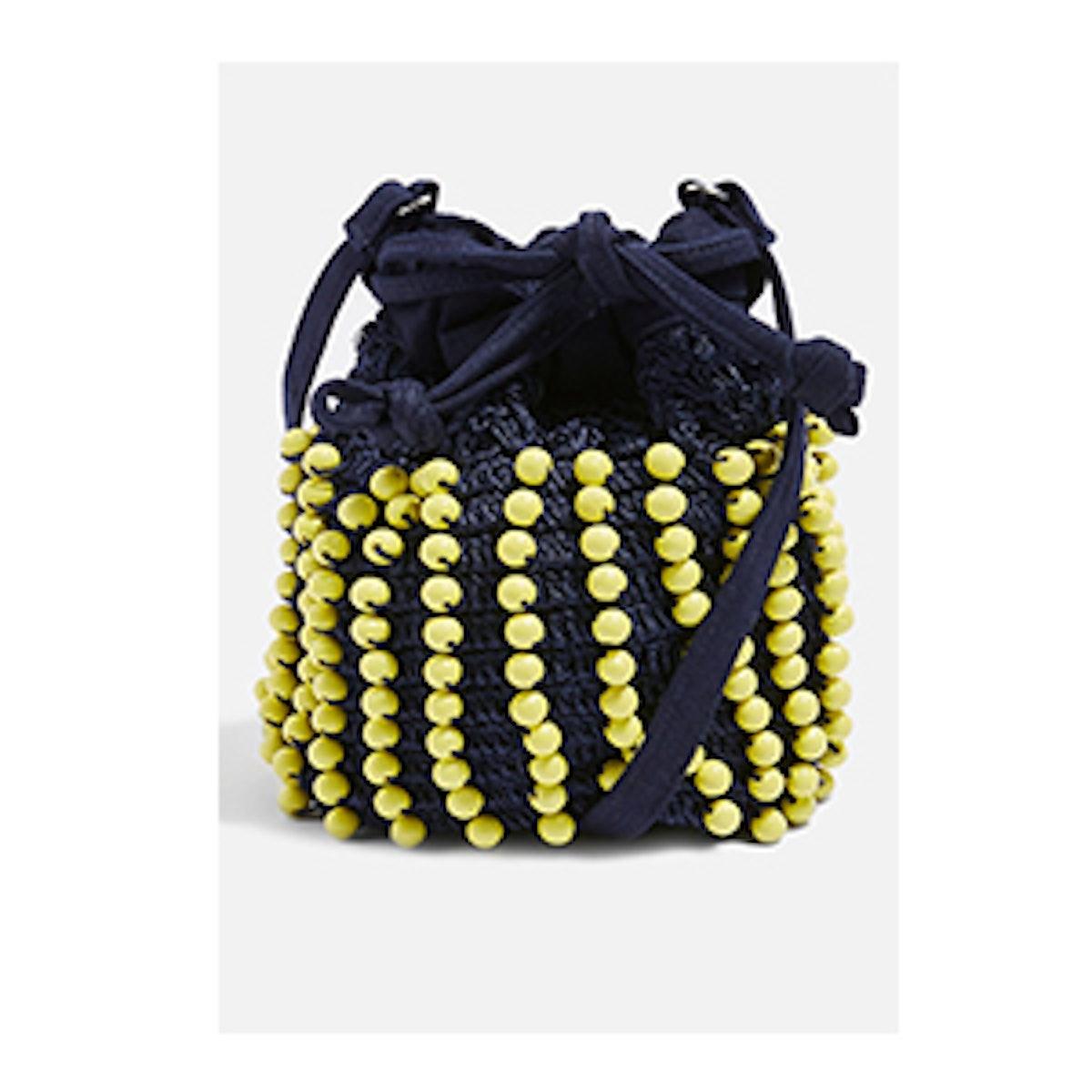 Bobbi Ball Drawstring Shoulder Bag