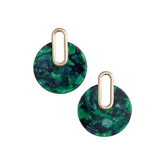 BP. Metal Post Marbled Earrings