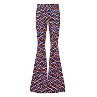 C'est La V Woodstock Flare Pants