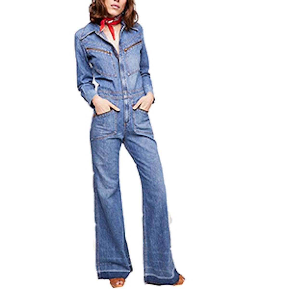 Farrah '70s Jumpsuit