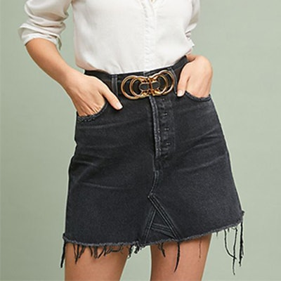 Citizens of Humanity Astrid Denim Mini Skirt