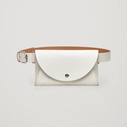Detachable Leather Belt Bag