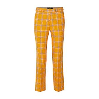 ETRO Checked Wool Straight-Leg Pants