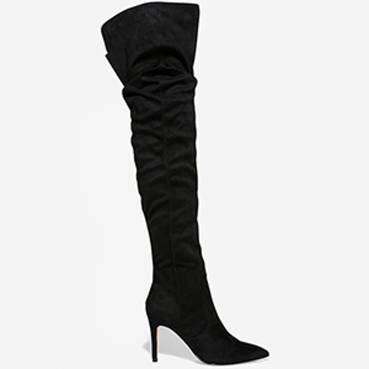 Thigh High Slouch Boots