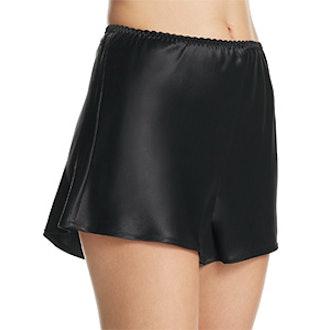 Ginia Basic Silk Boxers in Black