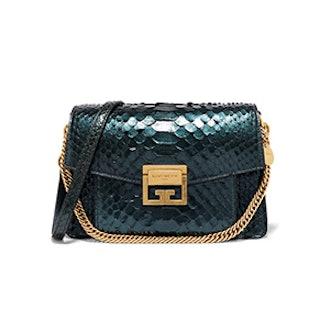 GV3 Small Python Shoulder Bag