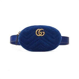 Gucci GG Marmont Small Matelassé Belt Bag