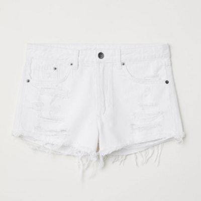 Denim Shorts Skinny Regular