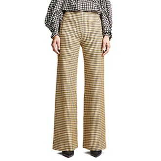 Luc Wide Leg Pants with Patch Pockets