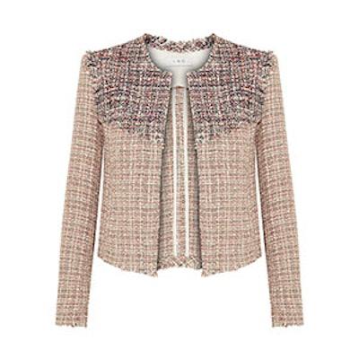 Walefa Frayed Cotton-Blend Tweed Jacket