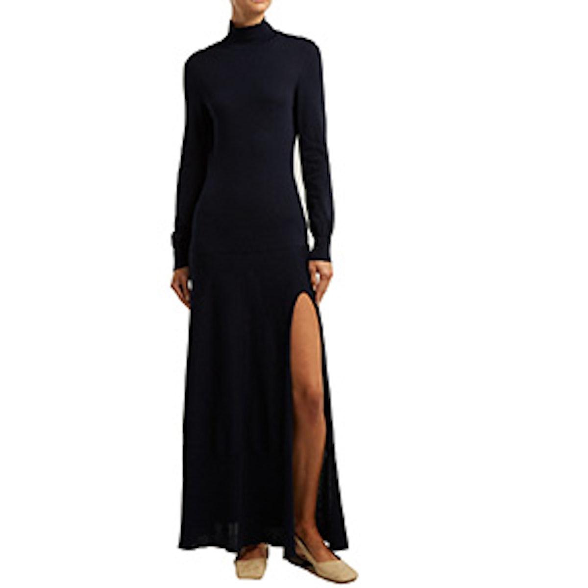 La Robe Baya Knitted Maxi Dress