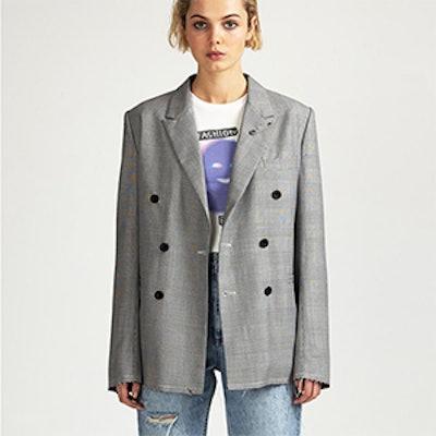 Antidote Jacket Grey Check