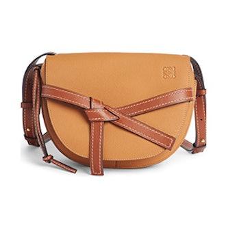Small Gate Leather Crossbody Bag