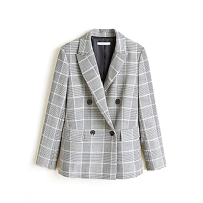 Check Structured Jacket