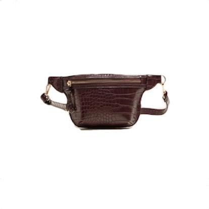 Zip-Detail Belt Bag
