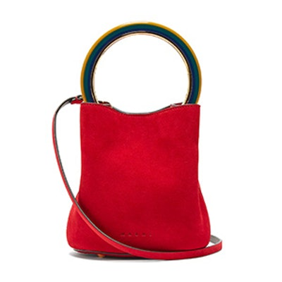 Pannier Suede Bucket Bag