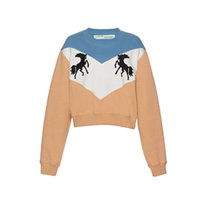OFF-WHITE c/o VIRGIL ABLOH Horse Crewneck Sweater