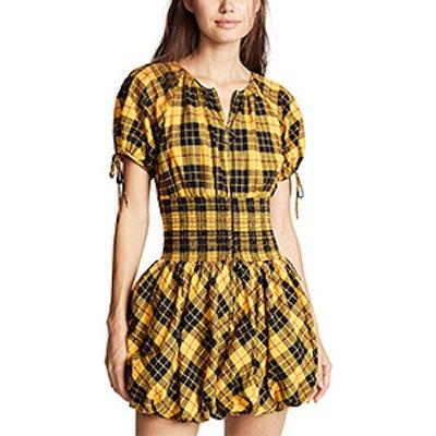 Brynn Plaid Dress