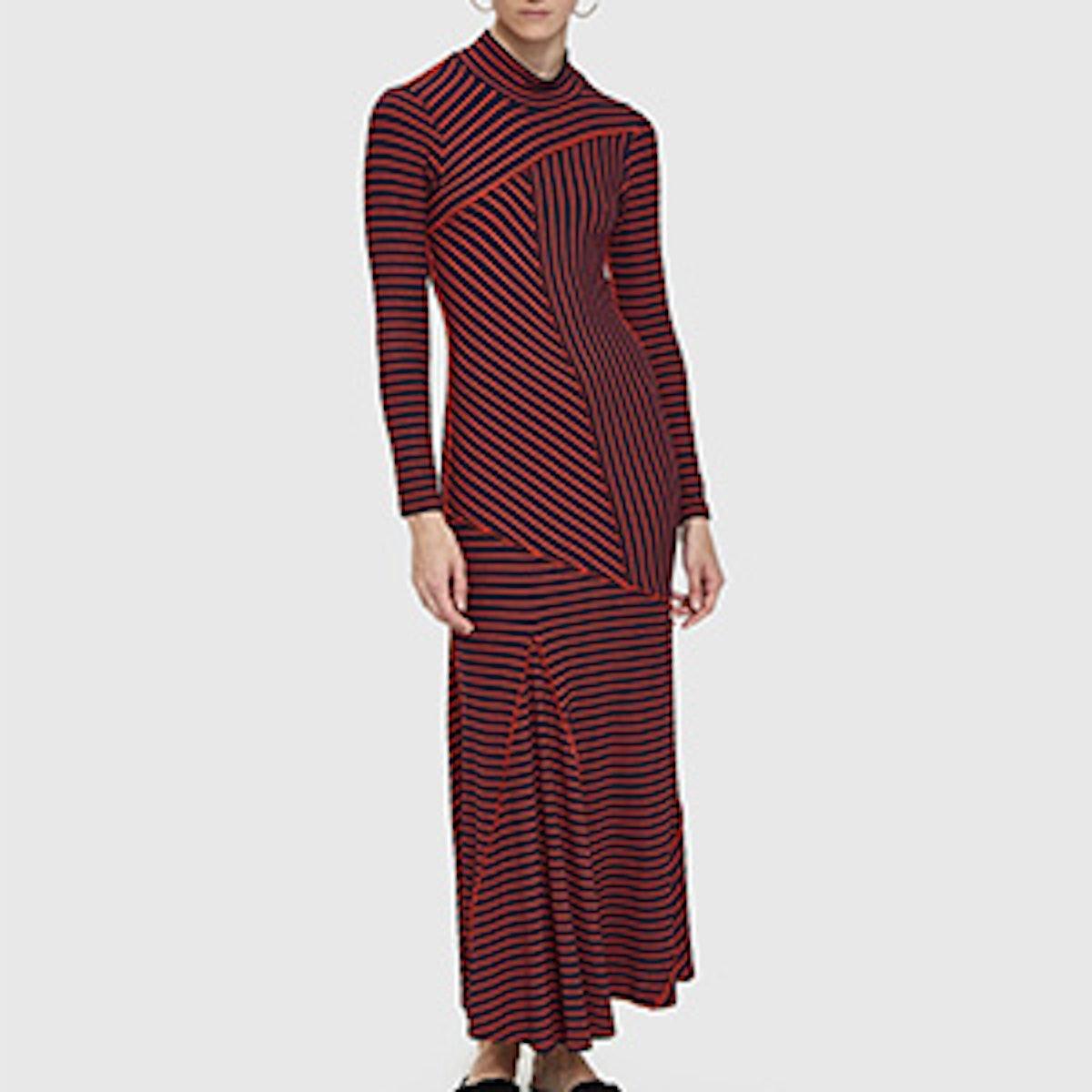 Toppa Leisure Stripe Dress