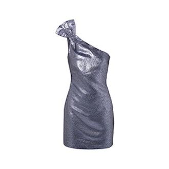 Sarrica Metallic Mini Dress