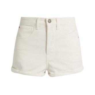 Raey Low Cut-Off Denim Shorts