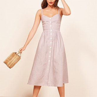 Thelma Dress In Jane Check
