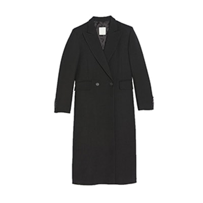Long Straight-Cut Coat