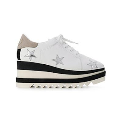 Star Embellished Platform Sneakers