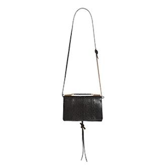 Small Flo Alter Snake Faux Leather Shoulder Bag