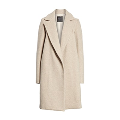 Theory Clairene Hawthorne Wool Cashmere Coat