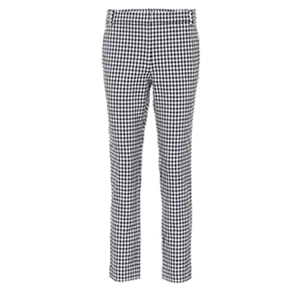Beatle Gingham Cropped Pants