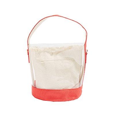 Red Bucket Bag