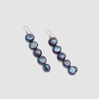 Drop Baroque Pearl Earrings