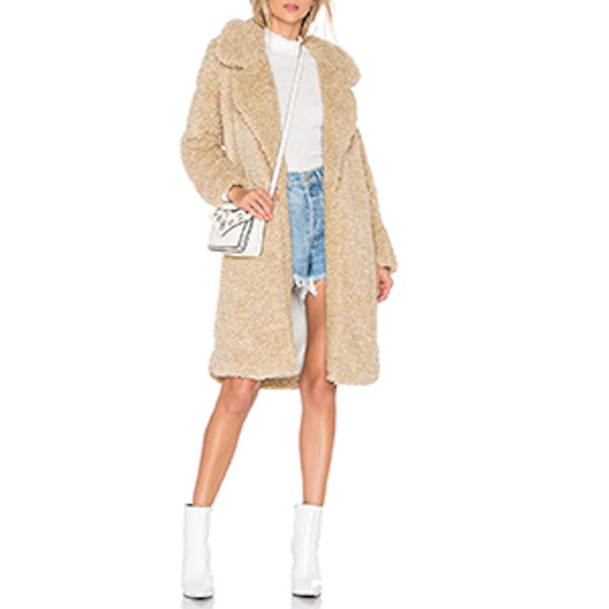 Long Violet Coat